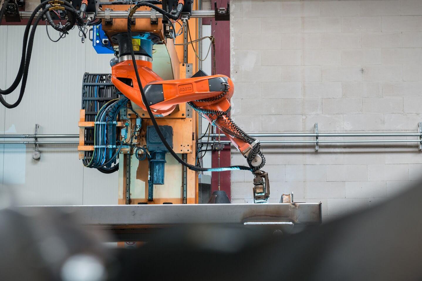Robotlassen met Lasrobot 2 CLOOS GLC
