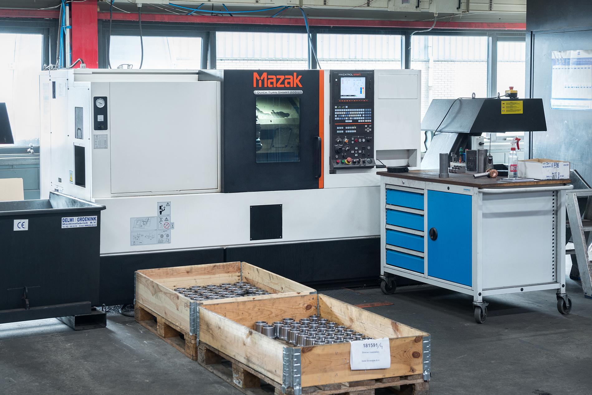CNC Draaien Bewerking Delwi Groenink