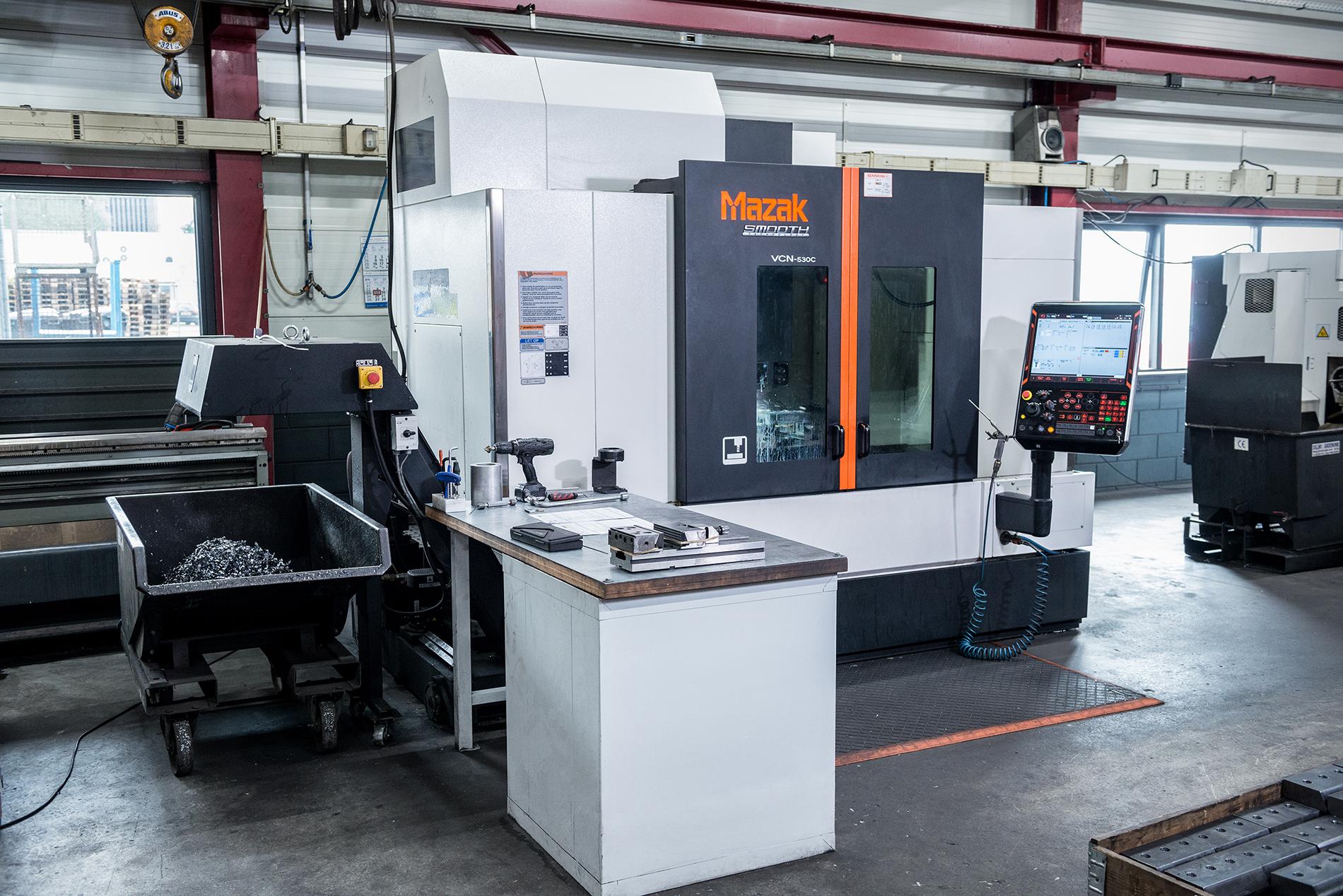 CNC Frezen Machine Bewerking Metaal Delwi Groenink